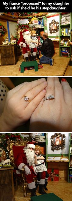 My fiance proposed to my daughter…