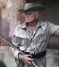 "Brian Keith as Davy Crockett in ""The Alamo: 13 Days to Glory"" Alamo Movie, Brian Keith, Davy Crockett, 13 Days, Extraordinary People, Texas History, Western Movies, Cowboys, Westerns"