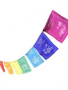 Tibetan Healing Prayer Flags