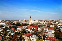 Charleston, SC-history, architecture, beaches, and delicious food.  Can't wait to visit this summer!