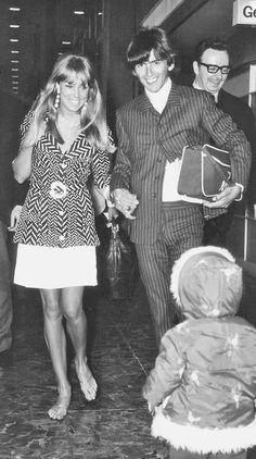 Patti Boyd George Harrison | George Harrison and Pattie Boyd