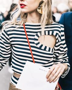 """9,638 Likes, 89 Comments - Who What Wear (@whowhatwear) on Instagram: """"Shopping on a budget? There are certain prints (like stripes) that always look expensive—…"""""""