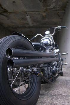 Shovelhead | Bobber Inspiration - Bobbers and Custom Motorcycles | the-ghost-darkness October 2014