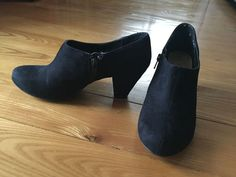 New Look Older Girls Ladies Heeled Black Ankle Shoe Boots US6.5 UK4 EU36/37 Used #NewLook #Boots