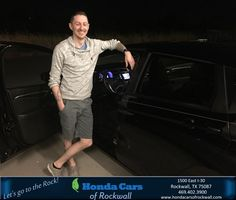 Happy Anniversary to William on your #Honda #Fit from Jim Rutelonis at Honda Cars of Rockwall!  https://deliverymaxx.com/DealerReviews.aspx?DealerCode=VSDF  #Anniversary #HondaCarsofRockwall