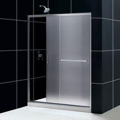 dreamline dl6503c01cl aqua frameless shower door and slimline 36
