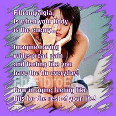 Fibromyalgia!  It really sucks!