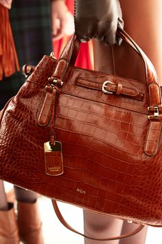 Get an exclusive backstage look at the Lauren Fall 2013 accessories