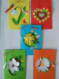 Kreativne ideje X Preschool Art Activities, Kindergarten Art Projects, School Board Decoration, School Decorations, Mothers Day Crafts For Kids, Mothers Day Cards, Eid Cards, Rena, Bulletins