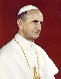 262) Bl. Paul VI, Papa PAULUS Sextus; 21 June 1963 – 6 August 1978 (15 years, 46 days); Giovanni Battista Enrico Antonio Maria Montini; 65 / 80; Last pope to be crowned in a coronation with the tiara. First pope to travel to the USA and Australia; first pope since 1809 to travel outside Italy. Closed the Second Vatican Council. Issued the encyclical Humanae vitae (1968) condemning artificial contraception.