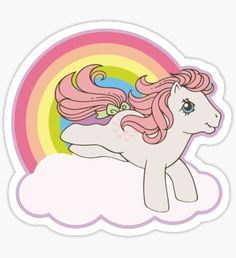 My Little Pony Vintage. for north west Halloween costume Vintage My Little Pony, My Little Pony 80s, My Little Pony Tattoo, Original My Little Pony, My Little Pony Stickers, Childhood Toys, Childhood Memories, Imagenes My Little Pony, New Friendship