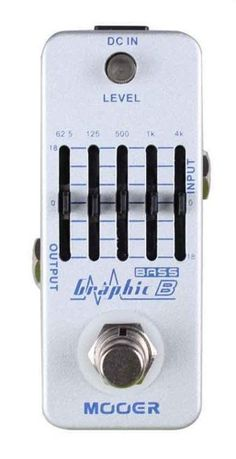 Mooer Audio Graphic B 5-Band Bass Equalizer