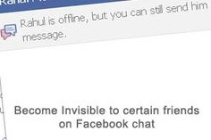 How to go offline to certain people on Facebook
