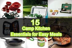 Camping is a truly pleasant experience, Check out Here most popular tools for camping. Make it easy to make it fun for all.