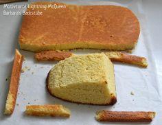 Barbara's Backstube: Lightning McQueen Torte (Mandelbiskuit mit Beerenfüllung)