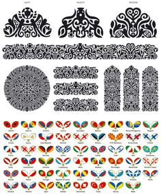 UEFA EURO 2012 - Patterns Unity, Rivalty and Passion + Flags