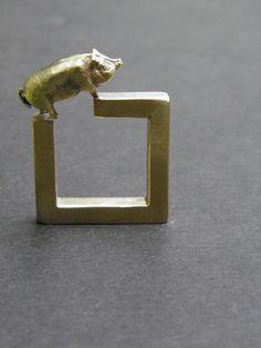 quien es el animal? / María Sólorzano / Contemporay Jewelry
