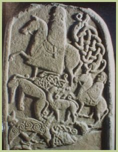 """The earliest surviving mention of the Picts dates from AD297.  In a poem praising the Roman emperor Constantius Chlorus, the orator Eumenius wrote that the Britons were already accustomed to the semi-naked """"Picti and Hiberni (Irish) as their enemies."""""""