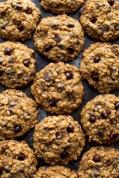 The best chocolate chip cookies! These soft & chewy oatmeal chocolate chip cookies have a few tricks to make them undeniably delicious, every time.