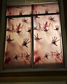 53 Unique Halloween Window Decoration Ideas You Don't Want to Miss #halloweendecorations 53 Unique Halloween Window Decoration Ideas You Don't Want to Miss