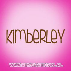 Kimberley (Voor meer inspiratie, en unieke geboortekaartjes kijk op www.heyboyheygirl.nl)