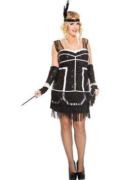 PLUS SIZE Dark Bride Black Gothic Corpse Halloween Costume Standard /& Petite