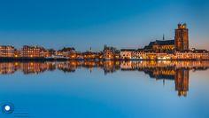 Dordrecht in the blue hour by Ilya Korzelius on 500px
