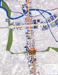 Berlin masterplan, by Norman Foster. Architectural Design v.61 n.92 1991: 31, on RNDRD