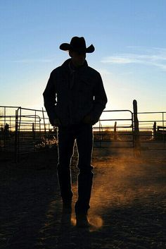 There's something about a cowboy. a real cowboy.