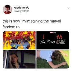 i literally started this account because of peter parker. i made it after i saw infinity war and became obsessed with peter (i didn't pay… Funny Marvel Memes, Marvel Jokes, Avengers Memes, Disney Marvel, Marvel Avengers, Marvel Comics, Funny Memes, Loki, Sehun