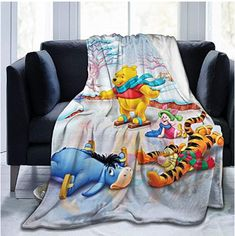 Rainbow Fart Throw Blanket Anime Winnie The Pooh Travel Throw Blankets Micro Sherpa Fleece Light Weight Ultra Soft Warm Blanket for Winter Spring Suitable for Bed Couch Sofa Living Room Inch Blankets For Winter, Warm Blankets, Organic Baby Clothes, Unisex Baby Clothes, Winnie The Pooh Blanket, Newborn Tieback, Bed Sofa, Winter Springs, Boho Baby