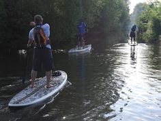 Paddle board from Bath to London