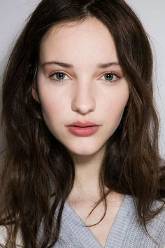 The Best Runway Beauty Looks from NYFW Fall 2016 | Lots of nice blushes and minimal eyes