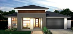 Want a new home where all the hard work has been done for you? Buy an Australian house and land package by McDonald Jones Homes, including luxury inclusions. Structural Steel Beams, Front House Landscaping, Landscaping Ideas, Mcdonald Jones Homes, Modern Front Yard, New Home Builders, Facade House, House Facades, House Landscape