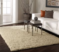 $5 Off when you share! Venice Shaggy Goldenrod Rug | Contemporary Rugs #RugsUSA