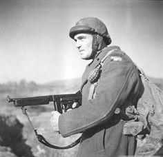 Commando d'Afrique, Battalion de shock, Tunisia 1943, pin by Paolo Marzioli