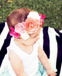 11 Coachella-Approved DIY Paper Flower Crowns via Brit + Co.