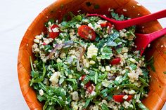 Coconut Rice Salad with Cherry Tomatoes and Corn