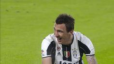New GIF on Giphy sports soccer laughing laugh calcio juventus serie a juve juventus fc mandzukic mario mandzukic via diggita.it