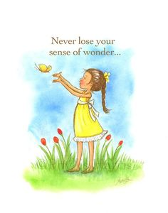 Good Morning Quotes Discover Childrens Wall Art - Never Lose Your Sense of Wonder - Custom Hair color Happy Monday Quotes, Thursday Quotes, Peace Quotes, Mom Quotes, Famous Quotes, Daughter Quotes, Love One Another Quotes, Buddha Doodle, Little Buddha