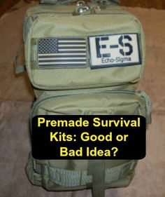 Whether or not to purchase a premade survival kit is something of a hot topic in the prepping world. Survival Kits, Hot Topic, Prepping, Survival Kit