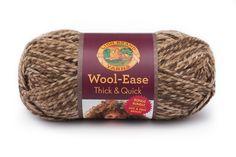 Lion Brand Yarn Wool-Ease Worsted Weight Yarn Choose 1 skein or 3 Blue Mist 115