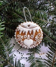 Gingerbread Christmas Ornament.