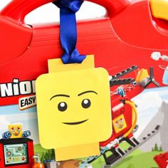 These Printable LEGO Luggage Gift Tags are so cute and make your gift extra special!