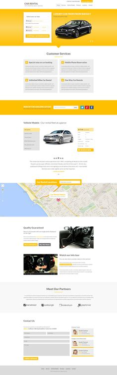 Car Rental Landing Page - Download http://themeforest.net/item/car-rental-landing-page/8245093?ref=pxcr