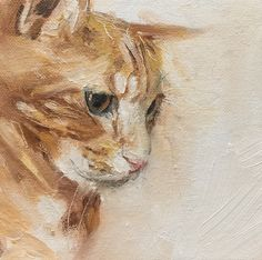 'Ozzie' oil on canvas by Julie Brunn+