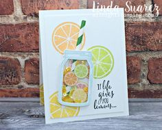 Shop for Stampin' Up! Learn how to create simple & pretty cards. Daily card ideas, paper crafting tips, stamping videos & tutorials. Scrapbooking, Scrapbook Cards, Card Making Inspiration, Making Ideas, Mason Jar Cards, Mason Jars, Stampin Pretty, Origami, Bird Cards