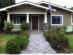 California Craftsman Bungalow Front Porch Renovation