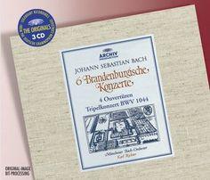 BACH 6 Brandenburg Concertos - Richter - Deutsche Grammophon