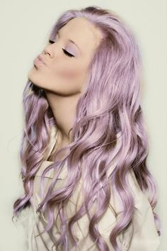 Pastel Colour Hair. I'll never have the guts to do this but I love it.